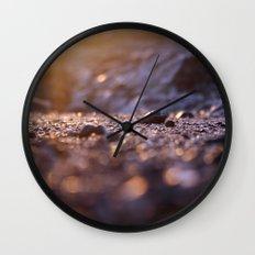 Jipa (stone) Golden Caribbean Wall Clock