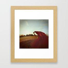A Subtle Escape Framed Art Print