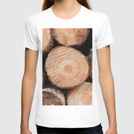 Sawn logs T-shirt
