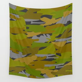 Camo - green Wall Tapestry