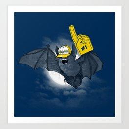 Baseball Bat Art Print
