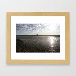 NEAR THE CREEK Framed Art Print