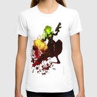 aquaman T-shirts featuring Anne Frankenstein AF2 by Lazy Bones Studios