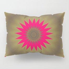 Pinkbrown Mandala 2 Pillow Sham