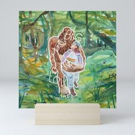 Big Foot, Big Love Mini Art Print