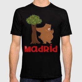 MADRID: Bear and Madrono (v.2) T-shirt