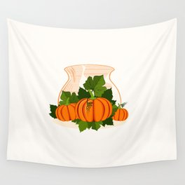 C13D Its Pumpkin Time Wall Tapestry