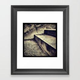 'SIMPLE STEPS' Framed Art Print