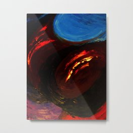 Abstract Untitled by Robert S. Lee Metal Print