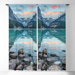 Lake Louise, Banff National Park, Alberta, Canada Blackout Curtain