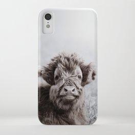 HIGHLAND CATTLE CALF ALF iPhone Case