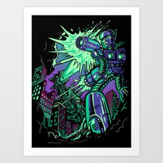 Pacific Retro Art Print