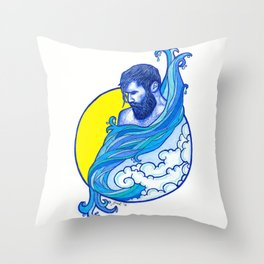Sim Sala Bim Throw Pillow