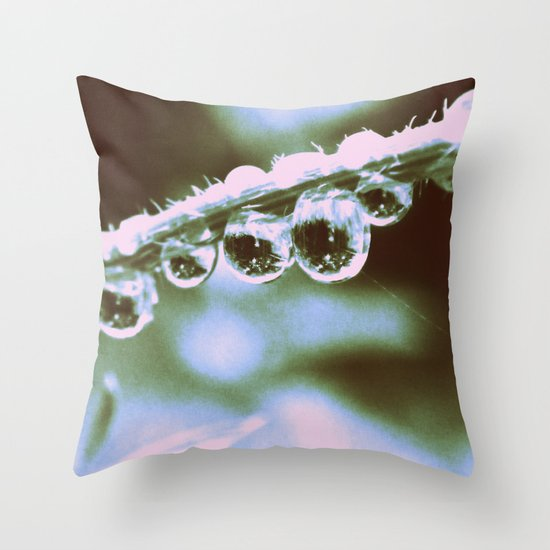 Everything Becomes Clear  Throw Pillow