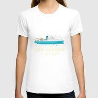 life aquatic T-shirts featuring The Life Aquatic with Steve Zissou by steeeeee