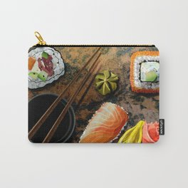 Sushi Time - Digital Collage Illustration  Carry-All Pouch