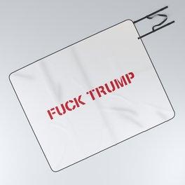 Fuck Trump / 2020 Election / Biden vs. Trump Picnic Blanket