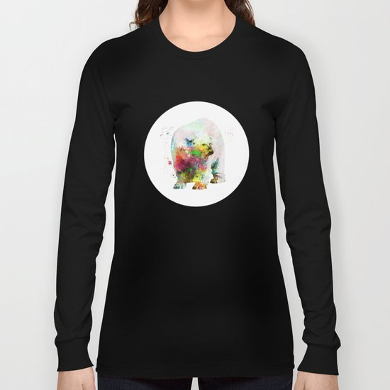 Bear painting Long Sleeve T-shirt