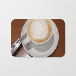 Rise and Shine Cafe con Leche Coffee! Bath Mat