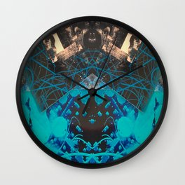 FX#507 - The Blueberry Effect Wall Clock