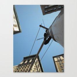 Mnhttn Shoes Canvas Print