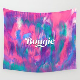 Bougie Colorful Abstract Painting Wall Tapestry