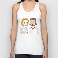 tenenbaums Tank Tops featuring Secretly In Love by Nan Lawson