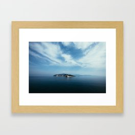 Ionian Sea, Greece Framed Art Print