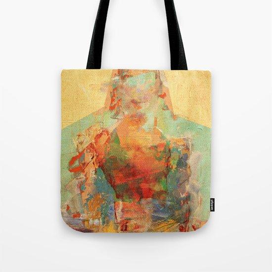 La Mujer y los Elementos Tote Bag
