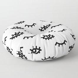 Eyelash Wishes Floor Pillow