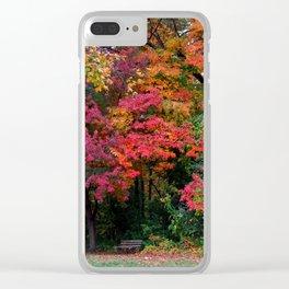 Wildwood Metropark Clear iPhone Case