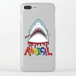 Radical, dude. Clear iPhone Case