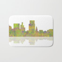 Boise, Idaho Skyline Bath Mat