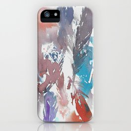 Watercolor Feathers iPhone Case