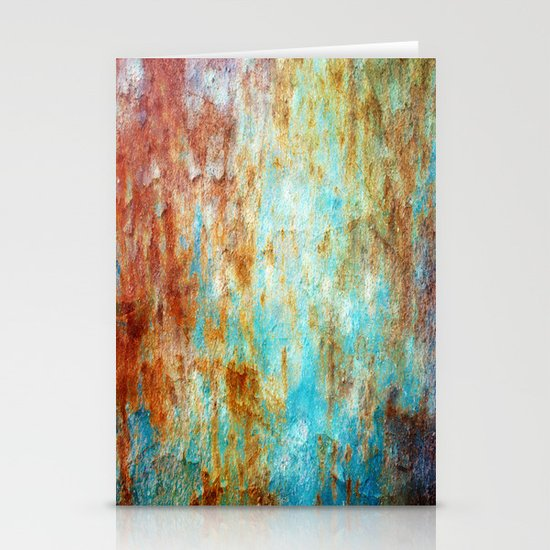 Grunge 'n' Rust Stationery Cards