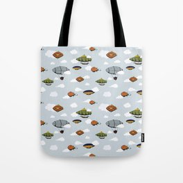 Blimps, Zeppelins, and Dirigibles Tote Bag