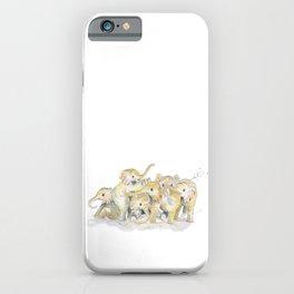 Baby Elephants iPhone Case
