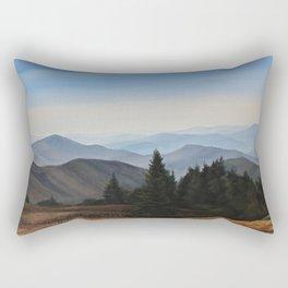 Grassy Ridge Bald, NC Rectangular Pillow