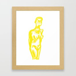 The Construct of Gender Framed Art Print