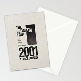 2001: A Space Odyssey Movie Poster Stationery Cards