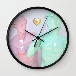 Two Lovers Wall Clock