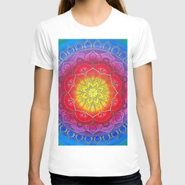 Elements mandala T-shirt