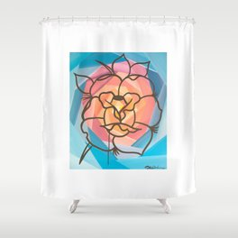 New KG Art Traditional Lady Shower Curtain