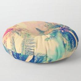PALM TREE-TROPICAL Floor Pillow