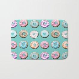 Donuts for tea Bath Mat