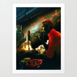 The Skipper Art Print