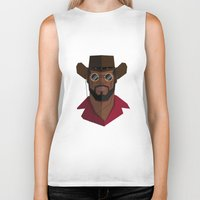 django Biker Tanks featuring Django Unchained by justdan