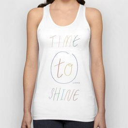 Time to Shine Unisex Tank Top