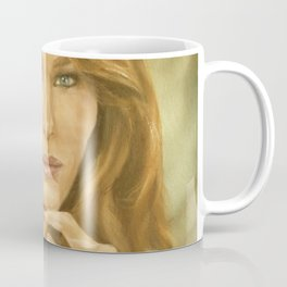 Oil Painting of Flotus, Melania Trump by Lydia Sturges Coffee Mug