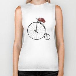 Christmas Bicycle Biker Tank